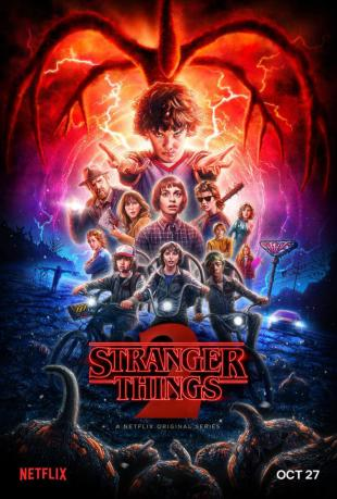 La locandina di Stranger Things 2